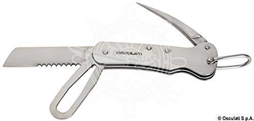 OSCULATI Coltello Marinaio Inox 100 mm