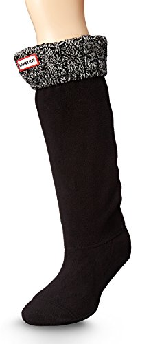 Calcetines Hunter, altos, originales, térmicos, para botas, unisex, adultos, 15 cm, color, talla 38 EU-40 EU
