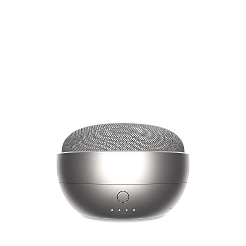 Ninety7 JOT Portable Battery Base for Google Home Mini … (Silver)