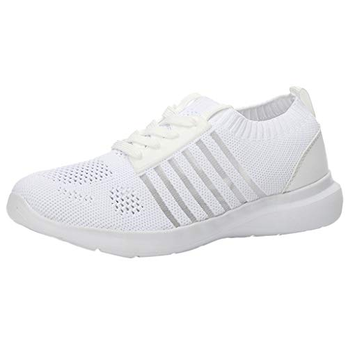 Breathable Sneakers Damen Sportschuhe Mesh Leichte Schuhe,Mode Hohl Women's Laufschuhe,Turnschuhe,Fitnessschuhe URIBAKY