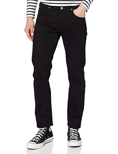Lee Daren Button Fly Jeans, Azul (Clean Black), 34W / 34L para Hombre