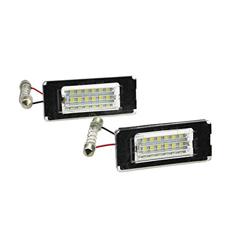 AutoStyle V-030115 Satz Passform LED Nummerschildbeleuchtung - Mini One/Cooper/S/Cabrio/Coupe/Roadster R56/R57/R58/R59 2006-2014