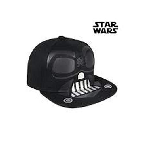 Schwein Star Wars Darth Vader Tennismütze für Kinder, Schwarz, 52-58 cm
