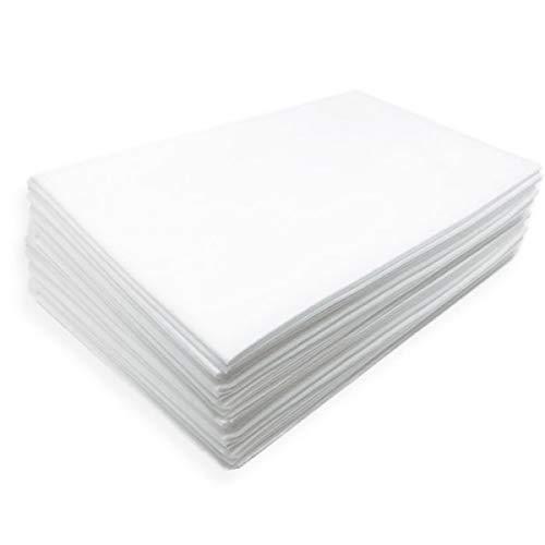PHYSIOFIT24-20 Stück 100x200 cm Waschfaserlaken Vlieslaken