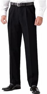 選べる裾上げ済みツータックビジネススラックス 夏物 ブラック