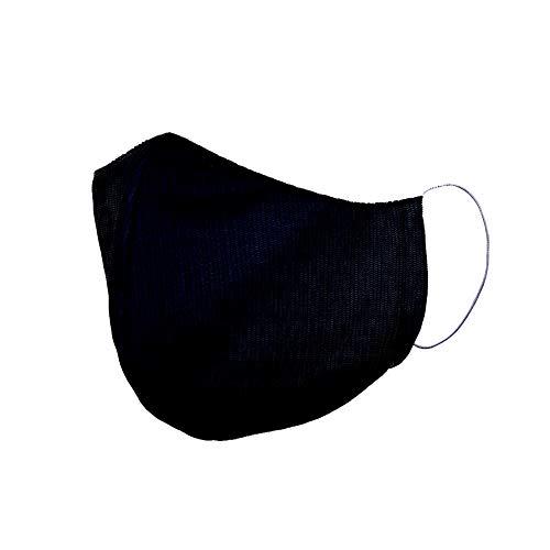 Schutzmaske Baumwoll-Sturmhaube, Schwarz