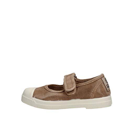 Natural World 476E Chaussures Velcro enfant Beige 23