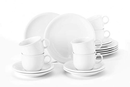 Seltmann Weiden 001.716172 Compact Weiss Kaffeservice 18 tlg.