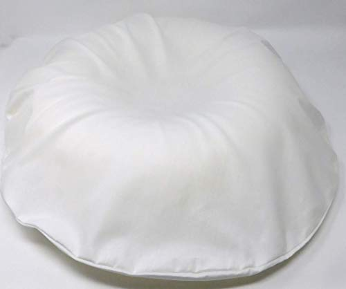 Dunlopillo Surgical Ring Cushion (Donut Cushion / Pillow) (Piles / Pile)with washable white poly cotton cover