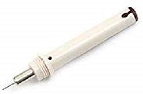 Tamaño de la punta de 0.25 mm para un fácil reemplazo de la punta El sistema de ecualización de presión asegura una hélice de tinta limpia Ideal para el trazado de papel, papel de vellum y cartón Dimensiones del producto de 5.2 x 2.7 x 1.7 cm