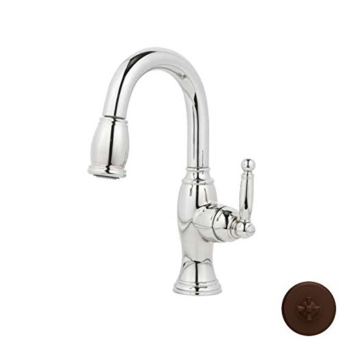 Buy Newport Brass 2510-5203/ORB Nadya Pullout Spray High-Arc Bar Faucet, Hand Relieved Oil Rubbed Br...
