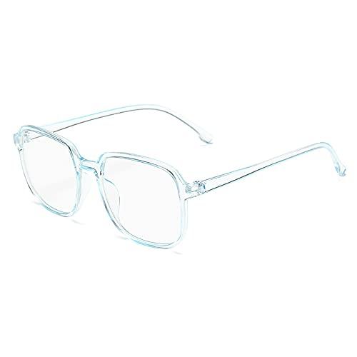 In My Heart Blue Light Glasses, Lightweight Comfortable Blue Light Blocking Glasses, Unisex Anti Eyestrain UV400 Computer Reading/Gaming Glasses (Blue)