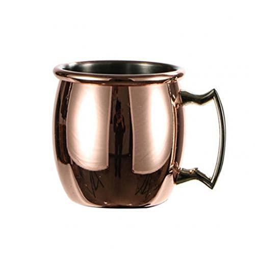N\C Taza de Viaje de 60ml Taza de café, Taza de Acero Inoxidable Cerveza Vino Agua Leche Taza de café vajilla Nuestra Taza Funciona Muy Bien para Cerveza refrigerada