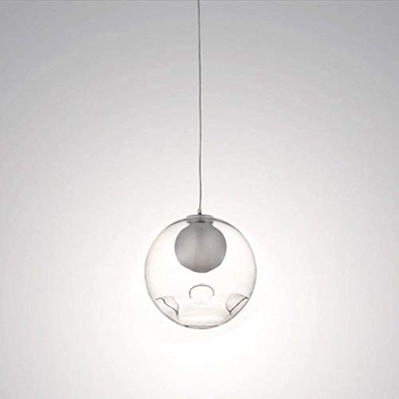 WHKHY Einfache Moderne Techniken Lampen Laternen Kugel 'Bubble' Glas-Kugel-Leuchten, hngende Kronleuchter, Lobby-Esszimmer
