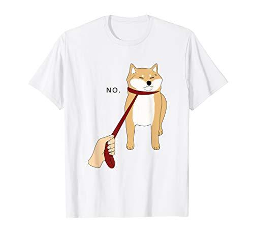 Cute Shiba Inu Shirt Nope - Doge Meme T-shirt W