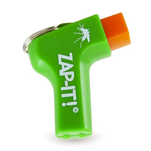 Zap It Mosquito Bite Relief - Fast Acting, Anti Itch, Insect Bite Treatment + Kid Safe & Chemical Free Zapper + Non Toxic Bug Bite Device to Reduce Swelling (1 Pack)