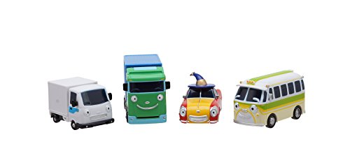 TAYO Der Kleine Bus Freunde Special # 5 Mini 4 PC-Spielzeug-Set (Booba