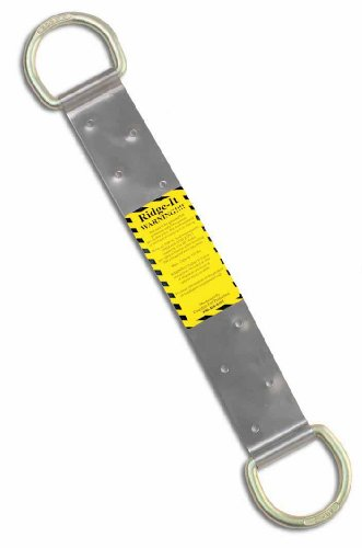 Guardian Fall Protection 00510ridg-2doppio D-Ring roof Anchor con chiodi
