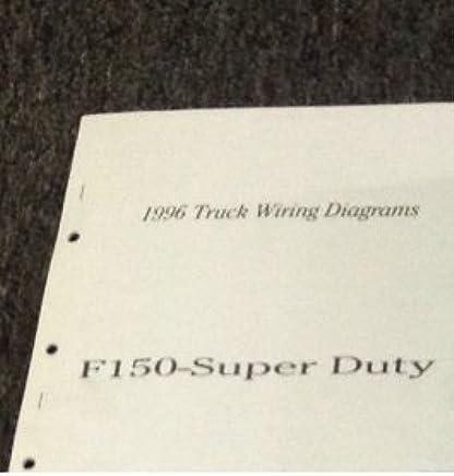 1996 ford f150 f-150 super duty f250 f350 electrical wiring diagram manual  ewd