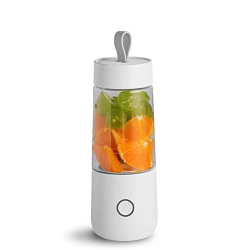 PLKJZ Portable Juicer Electric USB Rechargeable Smoothie Blender Machine Mixer Mini Juice Maker Fast Food Processor Mobile Mixer (Color : A)