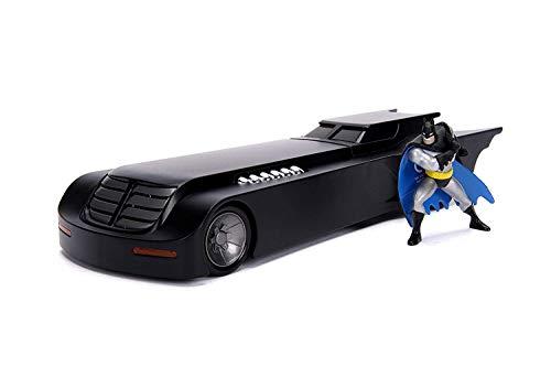 バットマン アニメイテッド・シリーズ メタルズ 1/24 スケール ダイキャストビークル バットモービル & バットマン / DC COMICS BATMAN THE ANIMATED SERIES 2019 JADA TOYS METALS DIE CA