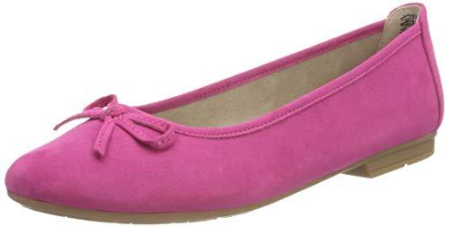 Jana 8-8-22164-26 510, Zapatos Tipo Ballet Mujer, Rosa, 36 EU