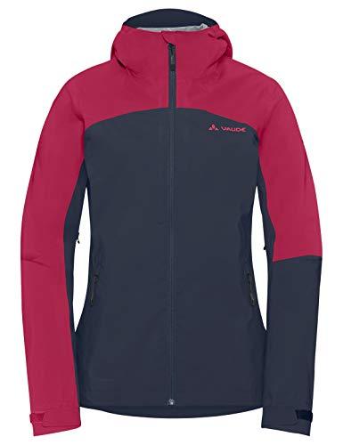 VAUDE Damen Moab Rain Jacket Regenjacke für Mountainbikerinnen, eclipse, 40, 408617500400