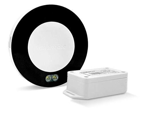 ismartgate PRO garaje: controlador inteligente Wi-Fi para abrir, cerrar y monitorizar de forma remota hasta tres garajes desde cualquier lugar con smartphone. Compatible con Apple HomeKit (Siri)