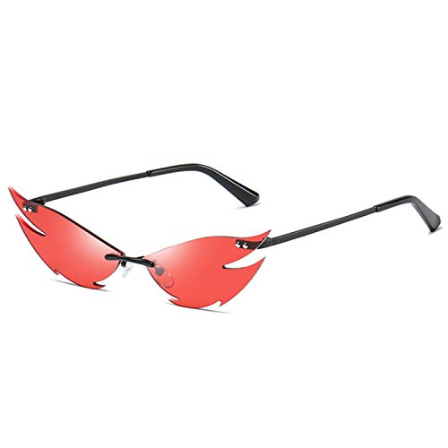 LUOXUEFEI Gafas De Sol Gafas De Sol Para Mujer Gafas Gafas De Verano Gafas De Sol Sin Marco Para Mujer