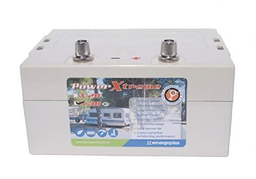 Power Xtreme Batterie für Rangierhilfe und Wohnwagen Lithium, Wohnwagenbatterie Bordbatterie Batterie für Rangierhilfe