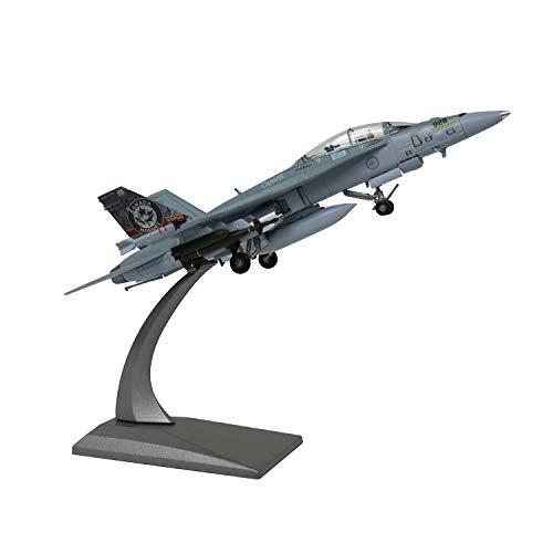 Lose Fun Park 1: 100 Modelo de avión Militar America F/A-18B Canadian Air Force Aleación Fundida a Presión Modelo de avión de Combate