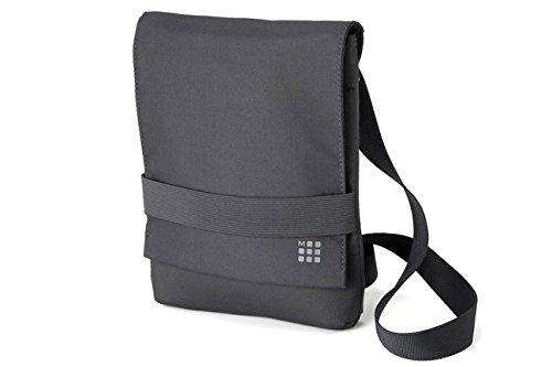 Moleskine Shoulder Bag Small Grey Bandolera Gris - Caja (Bandolera, Poliéster, Gris, 240 mm, 25 mm, 270 mm)