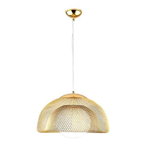 SKSNB Lámpara de araña de Sombrero de Paja de Hierro Lámpara de Restaurante nórdico Dormitorio Colgante Personalidad Creativa Estudio Mesa de Comedor Barra Hierro Forjado Iluminación DEC