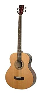 $566 » Deep Body Jumbo Acoustic/Electric Bass Multi-Colored