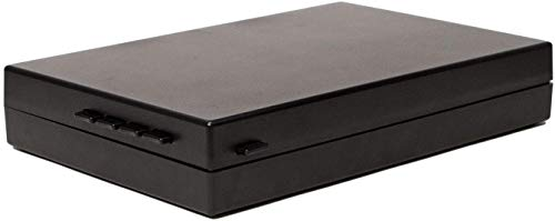 StopBox Instant Access Handgun Lock Box, Black - SB101