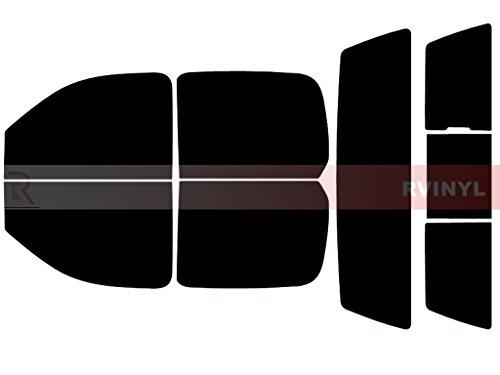 Rtint Window Tint Kit for Chevrolet Silverado 2007-2013 (4 Door) - Complete Kit - 5%