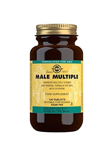 Solgar Male Multiple Tablets, Pack of 120