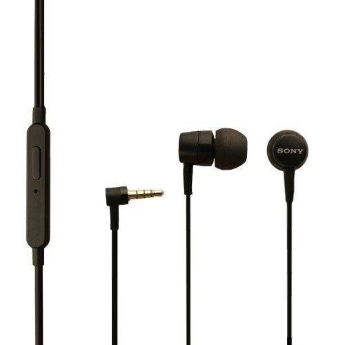 Original Sony auricolare MH750 per Sony Xperia SP in nero in-ear cuffie stereo