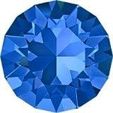 スワロフスキー Vカット 埋込型 #1028/#1088 【大きめサイズ●ss39(約8.3mm)】 サファイア
