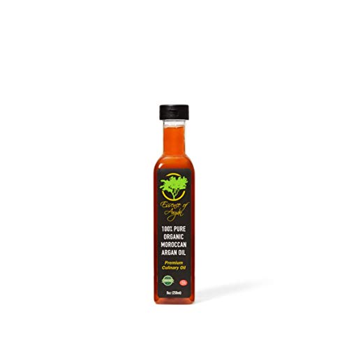 Argan Oil for Cooking – Organic and Natural 250ml (8oz)