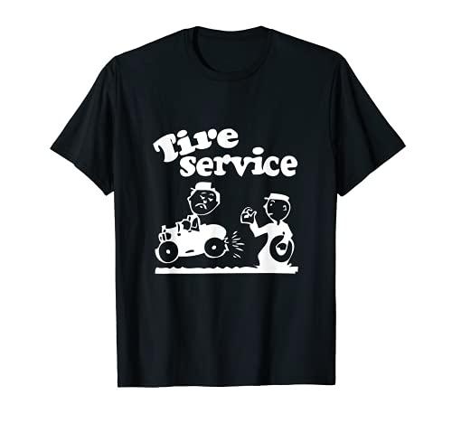 Servicio de neumáticos Mecánico Taller Uniforme Camiseta