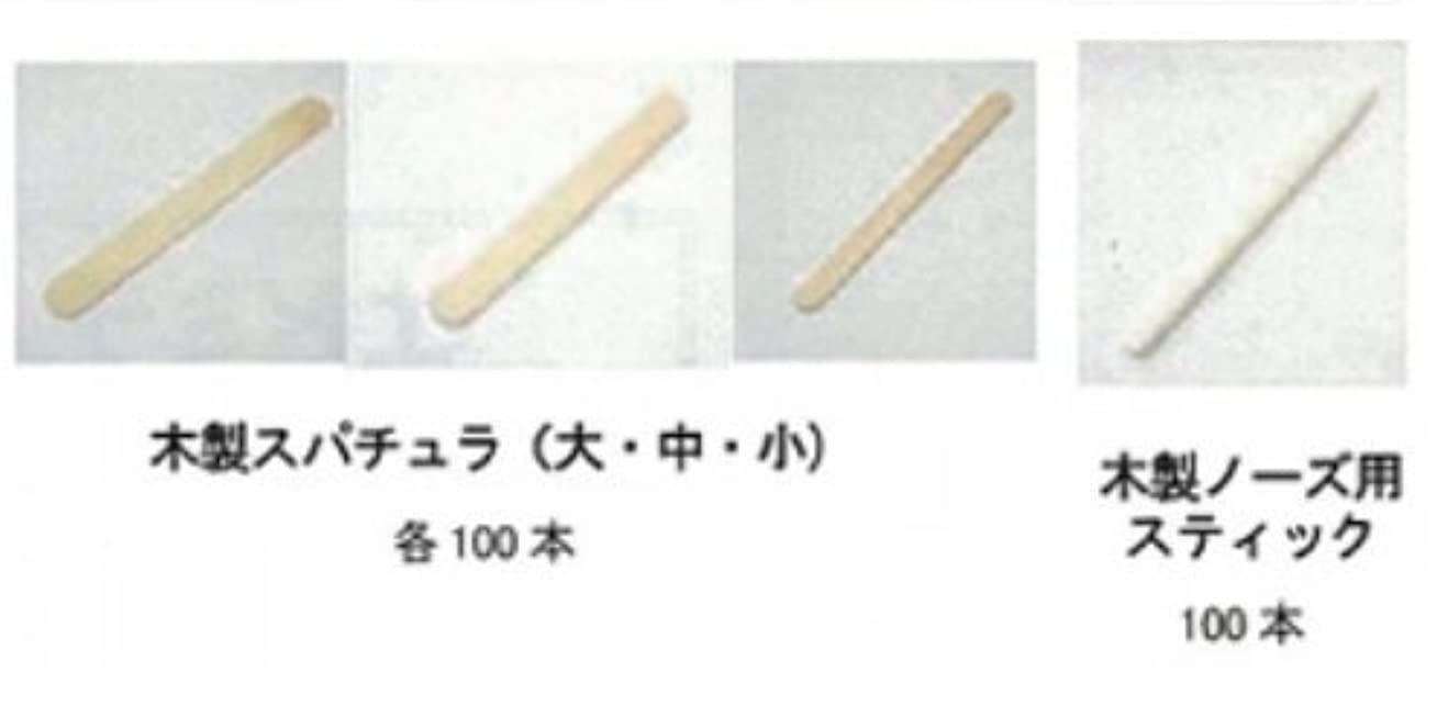夜間買う仮定EPI MILANO エピミラノ 木製スパチュラ 大 100本