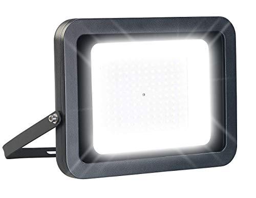 Luminea LED Flutlicht: Wetterfester LED-Fluter mit 13.500 Lumen, tageslichtweiß, 150 W, IP65 (LED Fluter Außenbereich)
