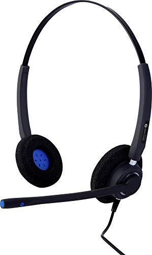 Alcatel-Lucent Enterprise AH 22M Telefon-Headset USB schnurgebunden On Ear Schwarz