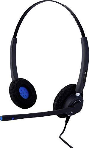 Alcatel-Lucent Enterprise AH 22M Telefon-Headset USB schnurgebunden On Ear Schwarz