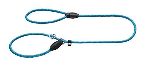 HUNTER Freestyle Retrieverleine, integrierter Halsung, robust, wetterfest, 0,8/120 cm, petrol