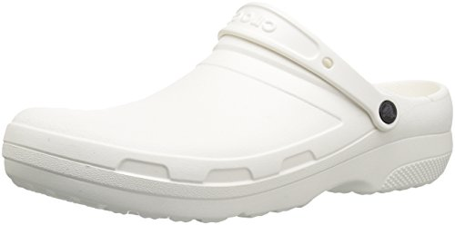 Crocs Specialist II Clog, Unisex Adulto Zueco, Blanco (White), 43-44 EU