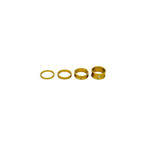 Wolf Tooth Precision Anodized Headset Spacers (Gold, 3, 5, 10, 15mm)