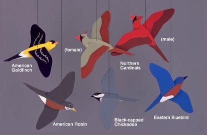 Songbirds Mobile by Skyflight Mobiles