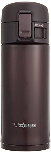 ZOJIRUSHI Stainless Steel Flask (360ml Capacity) Bordeaux SM-KC36-VD by Zojirushi